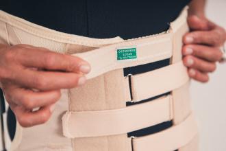 corset orthopédique daum